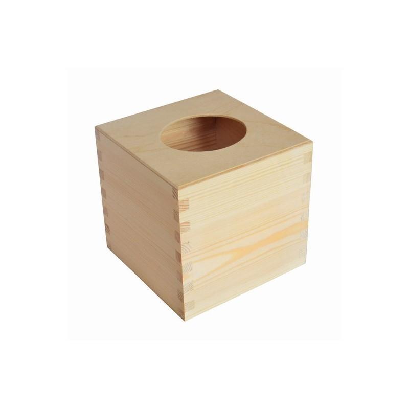 Image of Chustecznik Kwadratowy z drewna