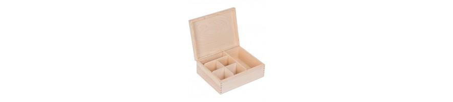Pudełko drewniane do decoupage na biżuterię koperty | Producent